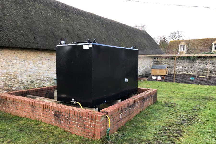 Domestic Oil Tank Installations - County Oil Tank Solutions